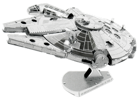 Star Wars Millennium Falcon Model Kit by Metal Earth